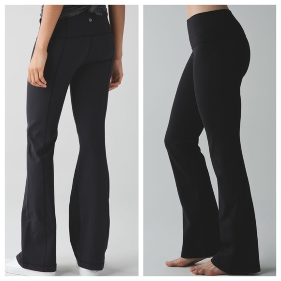 bcc023892 LULULEMON Groove Pant III High Rise Black Tall I31